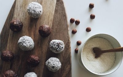 Bliss balls comme un brownie